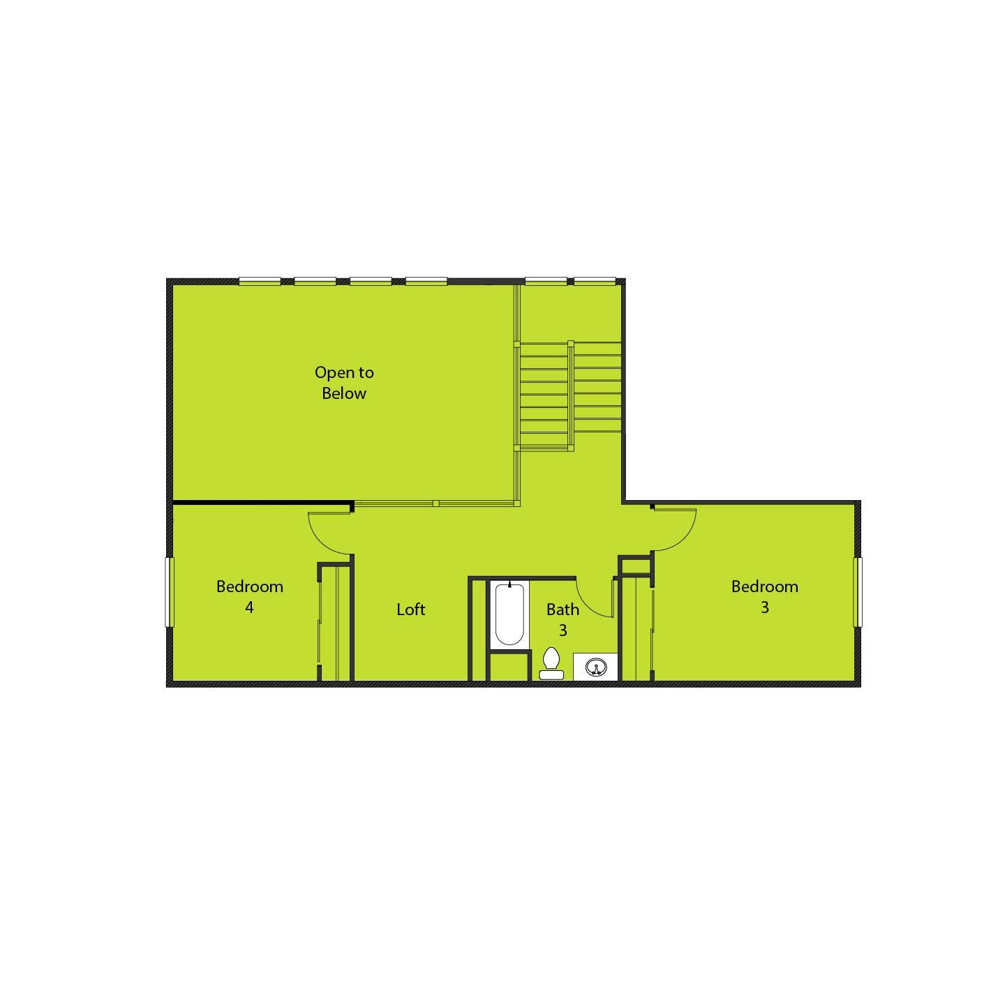 Sierra Oaks 2779 - 2nd - Bedroom 4 option
